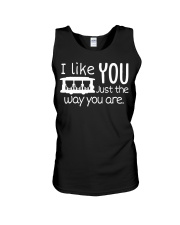 I LOVE YOU JUST THE WAY YOU ARE Unisex Tank thumbnail