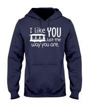 I LOVE YOU JUST THE WAY YOU ARE Hooded Sweatshirt thumbnail