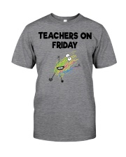 TEACHERS ON FRIDAY Classic T-Shirt thumbnail