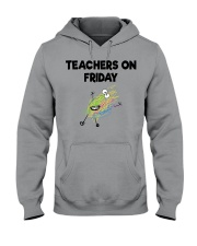 TEACHERS ON FRIDAY Hooded Sweatshirt thumbnail