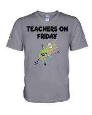 TEACHERS ON FRIDAY V-Neck T-Shirt thumbnail
