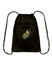TEACHERS ON FRIDAY Drawstring Bag thumbnail