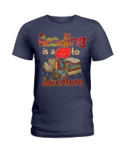 Reading adventure Ladies T-Shirt thumbnail