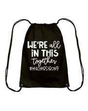 Teacherstrong Drawstring Bag thumbnail