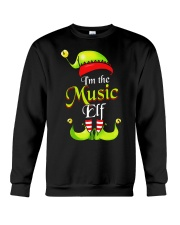 I'M THE MUSIC ELF Crewneck Sweatshirt thumbnail