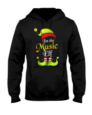 I'M THE MUSIC ELF Hooded Sweatshirt thumbnail