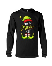 I'M THE MUSIC ELF Long Sleeve Tee thumbnail