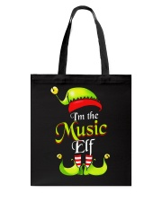 I'M THE MUSIC ELF Tote Bag thumbnail