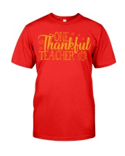 ONE THANKSFUL TEACHER Classic T-Shirt tile