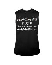 Teachers 2020 - QUARANTEACH Sleeveless Tee thumbnail