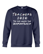 Teachers 2020 - QUARANTEACH Crewneck Sweatshirt thumbnail