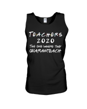 Teachers 2020 - QUARANTEACH Unisex Tank thumbnail