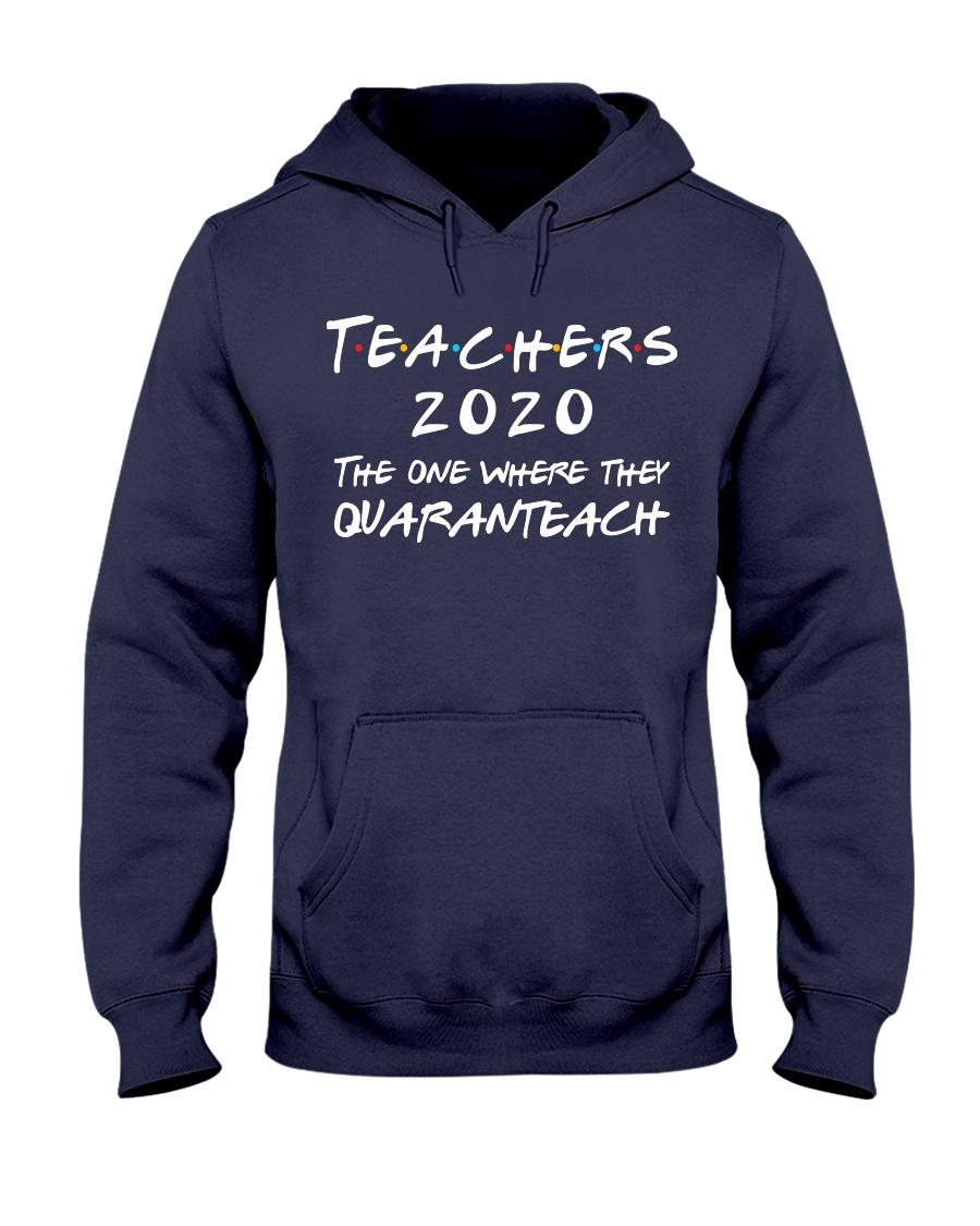 Teachers 2020 - QUARANTEACH Hooded Sweatshirt