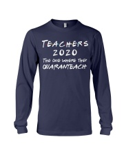 Teachers 2020 - QUARANTEACH Long Sleeve Tee thumbnail
