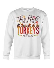 THANKFUL FOR MY LITTLE TURKEYS  Crewneck Sweatshirt thumbnail