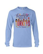 THANKFUL FOR MY LITTLE TURKEYS  Long Sleeve Tee thumbnail