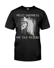 Hello Darkness My Old Friend Classic T-Shirt front