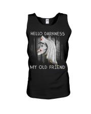 Hello Darkness My Old Friend Unisex Tank thumbnail