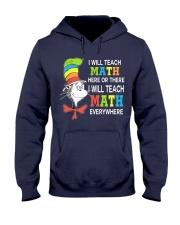 I WILL TEACH MATH EVERYWHERE Hooded Sweatshirt thumbnail