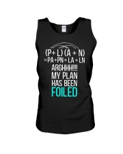 My plan has been foiled Unisex Tank thumbnail