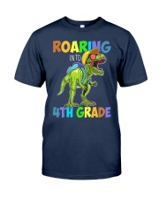 4th Grade  roaring Classic T-Shirt tile