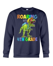 4th Grade  roaring Crewneck Sweatshirt thumbnail
