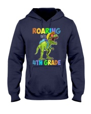 4th Grade  roaring Hooded Sweatshirt thumbnail