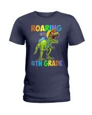 4th Grade  roaring Ladies T-Shirt thumbnail