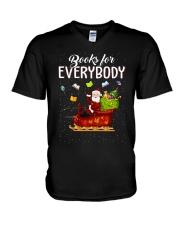 BOOKS FOR EVERYBODY V-Neck T-Shirt thumbnail