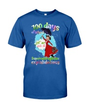 100 DAYS OF SCHOOL SUPERCALIFRAGILISTIC Classic T-Shirt front