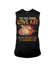 You are gonna love art Sleeveless Tee thumbnail