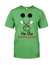 Nurse - No one fights alone Premium Fit Mens Tee thumbnail