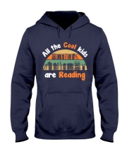 At the cool kids are Reading Hooded Sweatshirt thumbnail