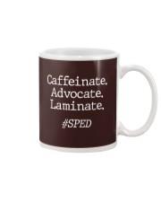 Caffeinate Advocate Laminate Mug thumbnail