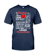 In Daycare We are Family Classic T-Shirt tile