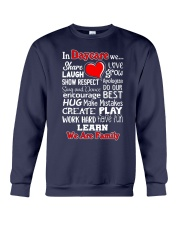 In Daycare We are Family Crewneck Sweatshirt thumbnail