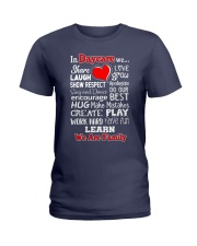 In Daycare We are Family Ladies T-Shirt thumbnail
