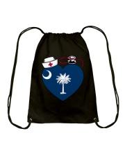 South Carolina Nurse Drawstring Bag thumbnail