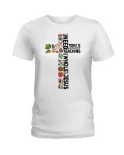 A little bit of Teaching Ladies T-Shirt front