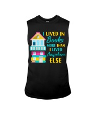 I Lived in Books more than i lived anywhere else Sleeveless Tee thumbnail
