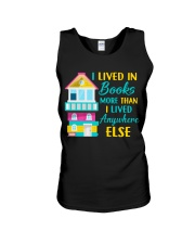 I Lived in Books more than i lived anywhere else Unisex Tank thumbnail