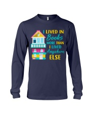 I Lived in Books more than i lived anywhere else Long Sleeve Tee thumbnail