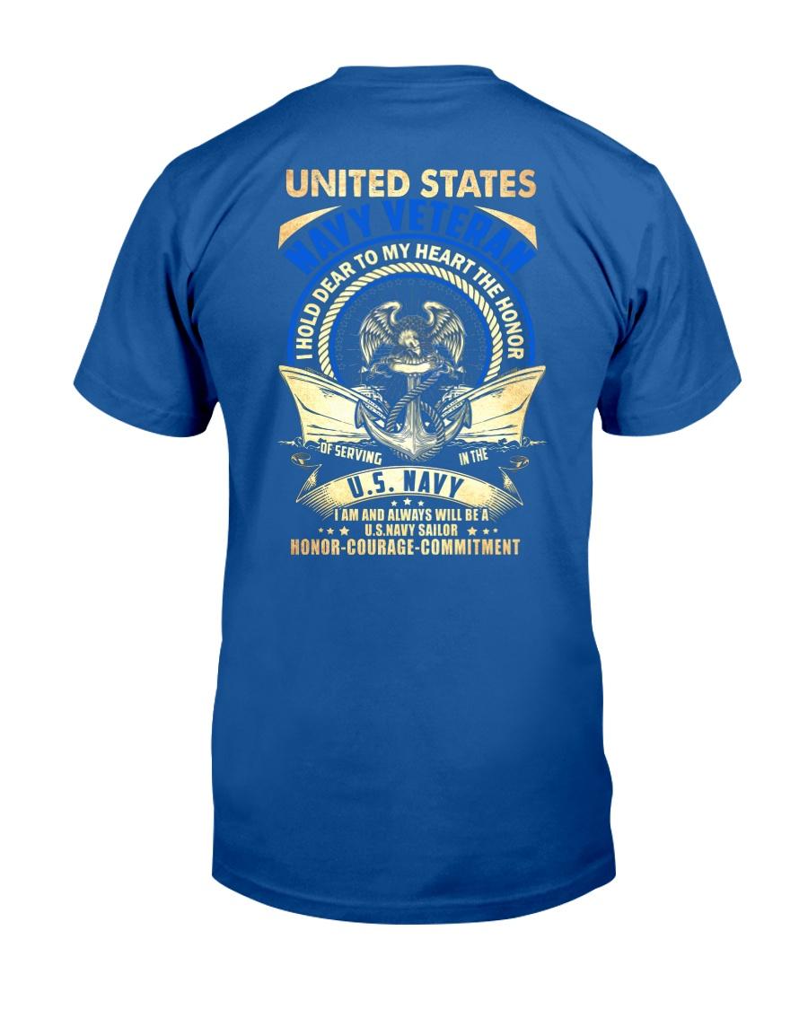 United States Navy Veteran Classic T-Shirt