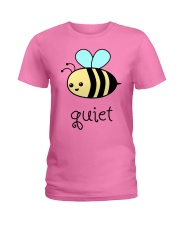 Be quiet Ladies T-Shirt tile