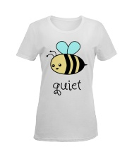Be quiet Ladies T-Shirt women-premium-crewneck-shirt-front