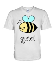 Be quiet V-Neck T-Shirt thumbnail