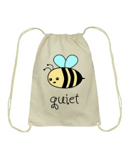 Be quiet Drawstring Bag thumbnail