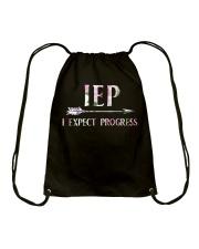 IEP i expect progress Drawstring Bag thumbnail