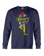 I'M THE LIBRARY LADY Crewneck Sweatshirt thumbnail