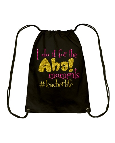 I do it for the aha